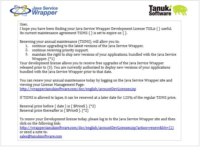 Java Service Wrapper