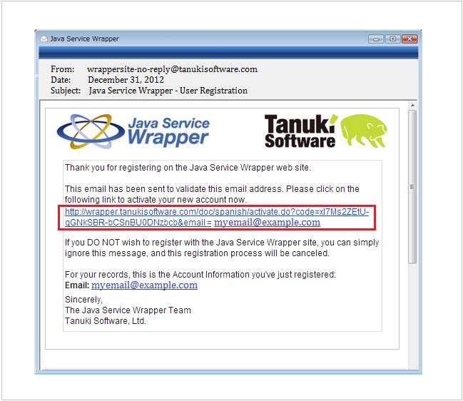Java Service Wrapper -